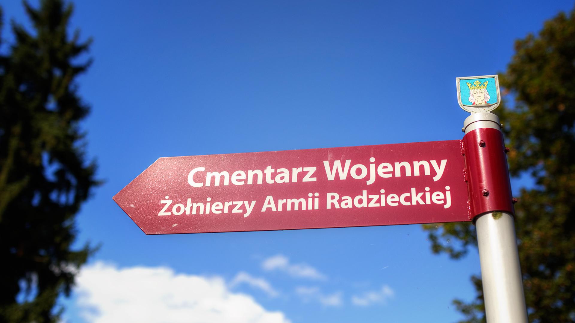 Cmentarz wojenny w Chojnie