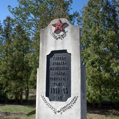 Żagań cmentarz I i II wojna
