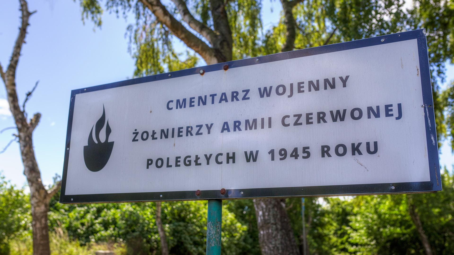Chłapowo cmentarz wojenny
