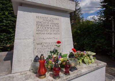 Kwatera żołnierzy Armii Czerwonej w Bydgoszczy
